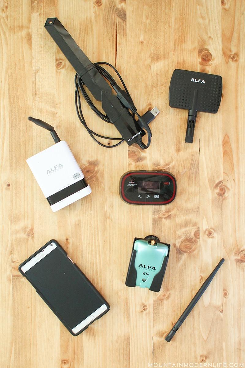 Our (Current) RV Internet Setup | Mountain Modern Life