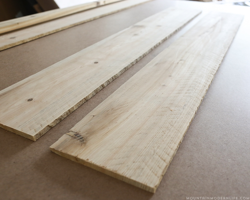 Tips for updating rv slide out moulding for Using reclaimed wood