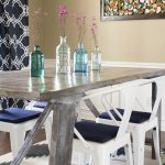 DIY Rustic Farmhouse Style Table | MountainModernLife.com