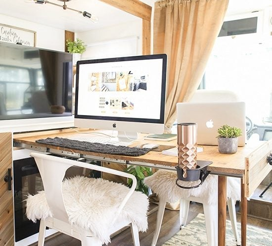 Looking for ways to maximize the space in your tiny house on wheels? Check out these tips! MountainModernLife.com