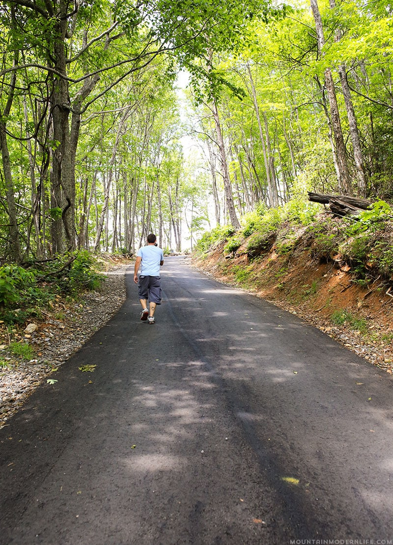 Are you in or around Hiawassee, GA? You should take a quick trip up to Bell Mountain, you can drive all the way up and see amazing views of Lake Chatuge.   Mountainmodernlife.com