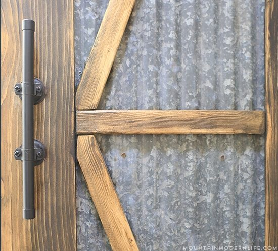 How to Make Rustic Modern Cabinet Pulls | MountainModernLife.com