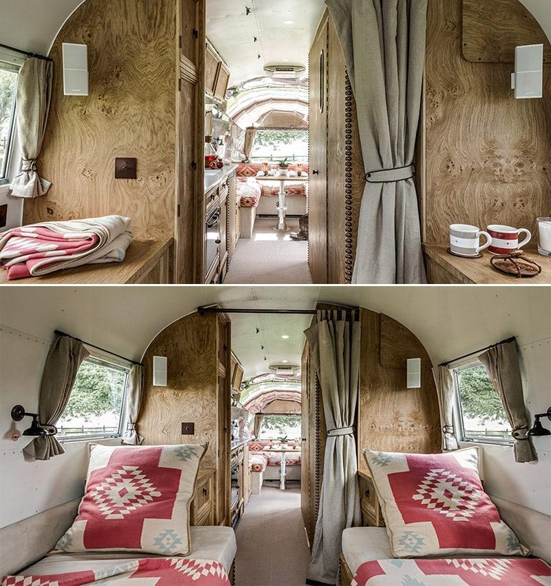Rustic Camper Remodel: Ralph Lauren Inspired Airstream by American Retro Caravans