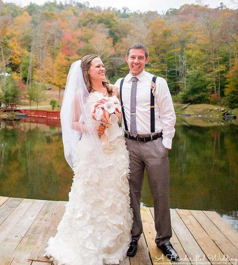 North Carolina Cabin Wedding at Memory Mountain at Wolf Laurel | MountainModernLife.com