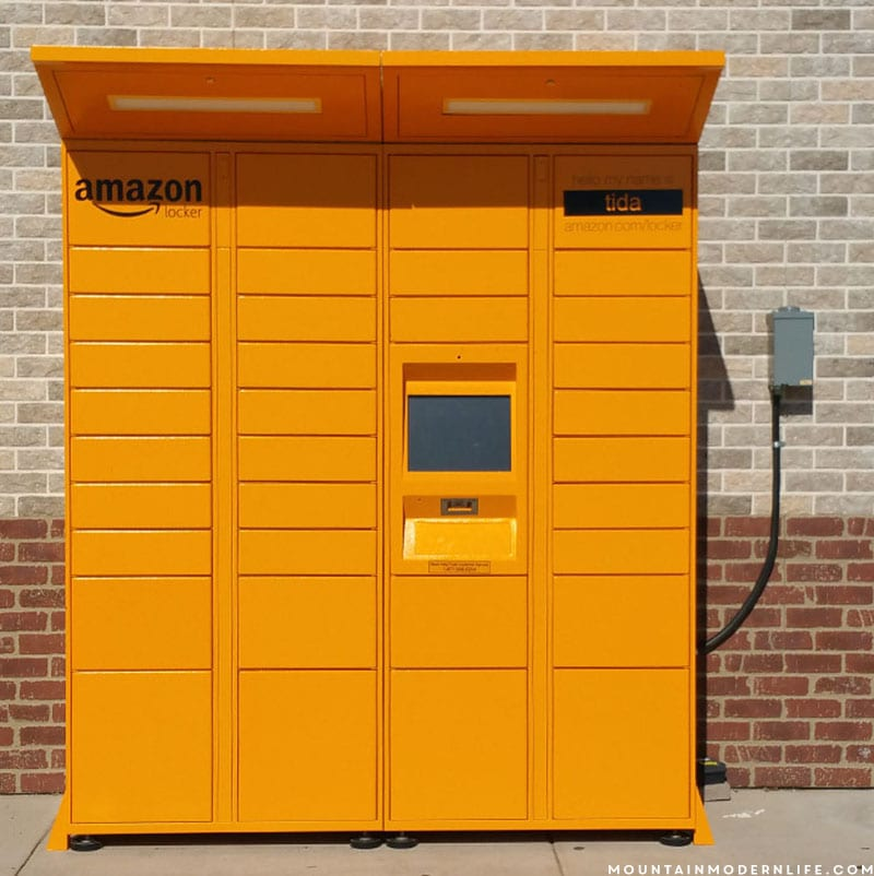 Traveling in your RV? Be sure to check out Amazon Locker for an easy way to get packages on the road. Mountainmodernlife.com