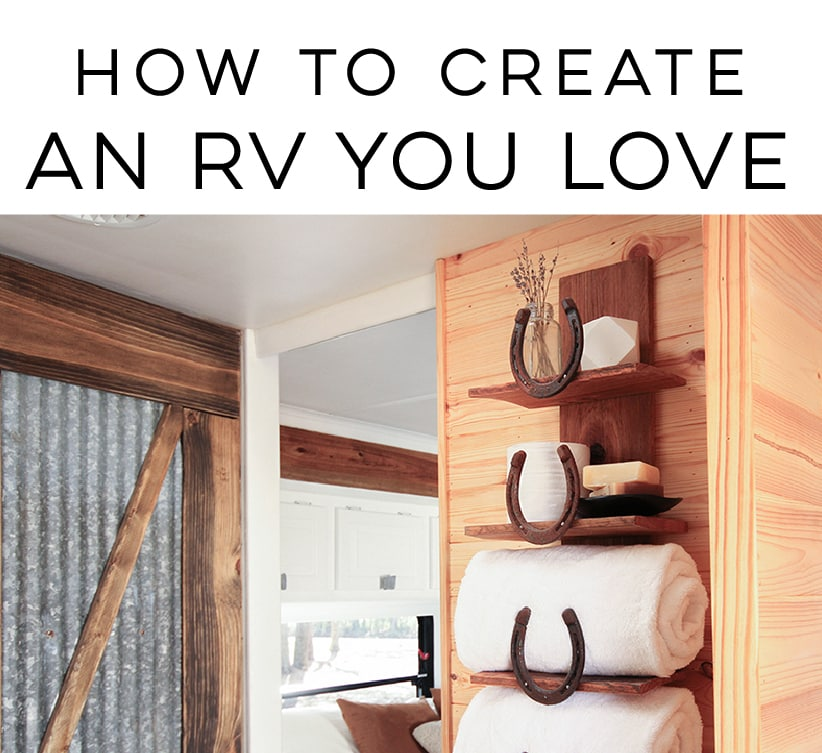 Create an RV you love