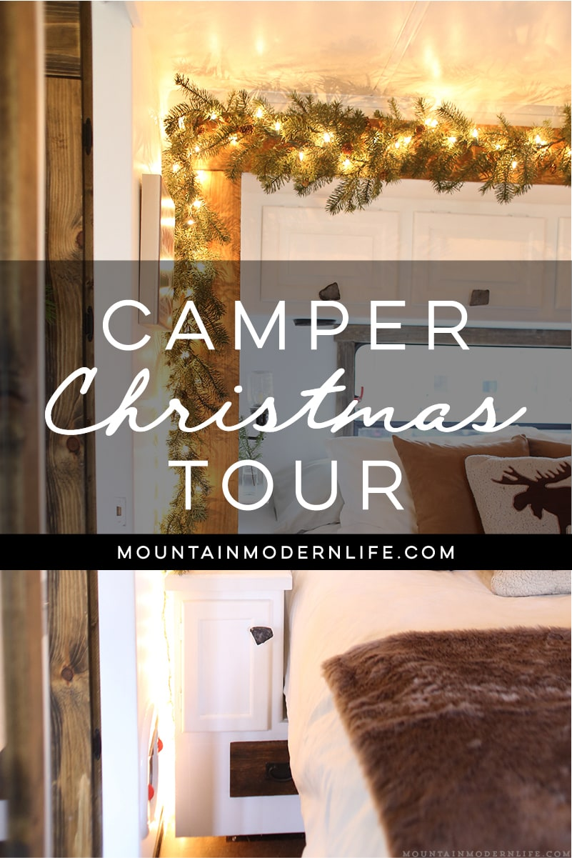 Christmas In The Camper Mountainmodernlife Com