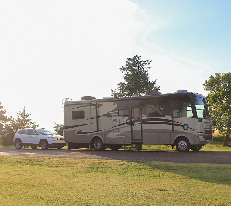Are you new to RVing and still unsure on how to tow a vehicle when traveling? We've decided on a different option, but there were a ton of things to consider before making a decision. Mountainmodernlife.com