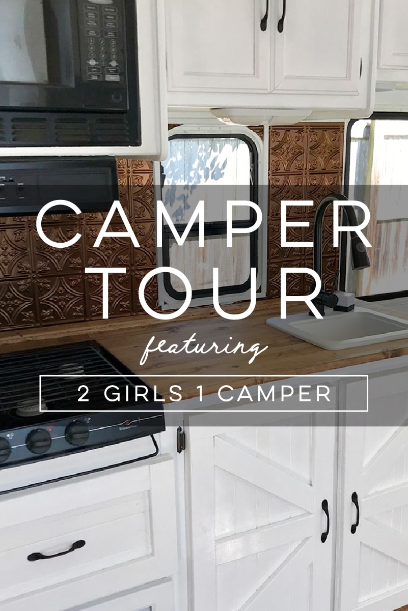 Tour this Eclectic Camper with Rustic Details