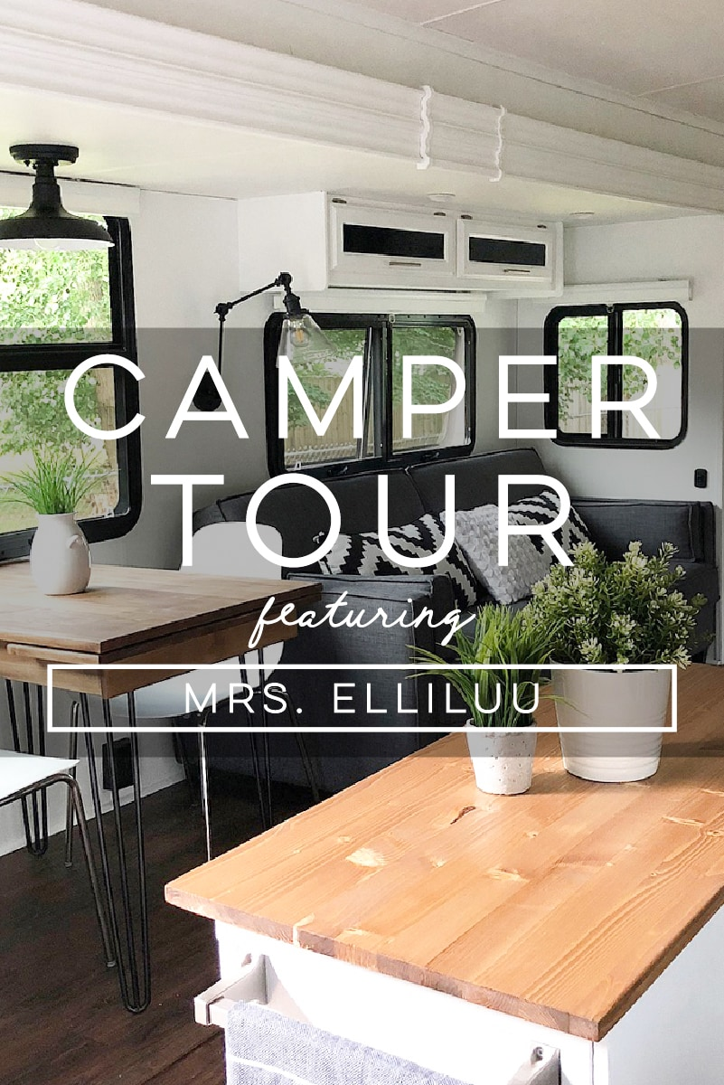 Design Vibes: Tour this renovated camper from Mrs. Elliluu!