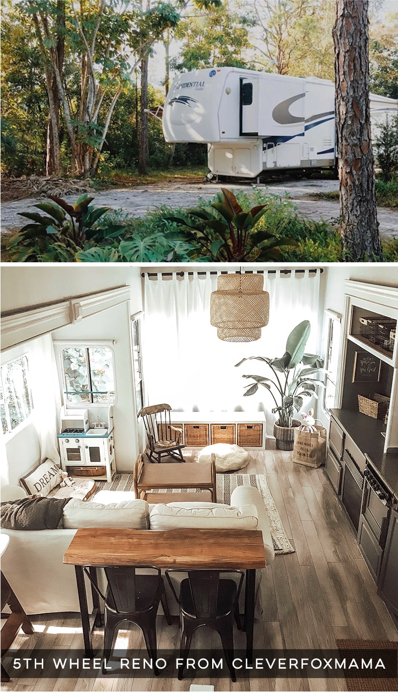 Renovated 5th Wheel With Cozy Cottage Vibes Mountainmodernlife Com
