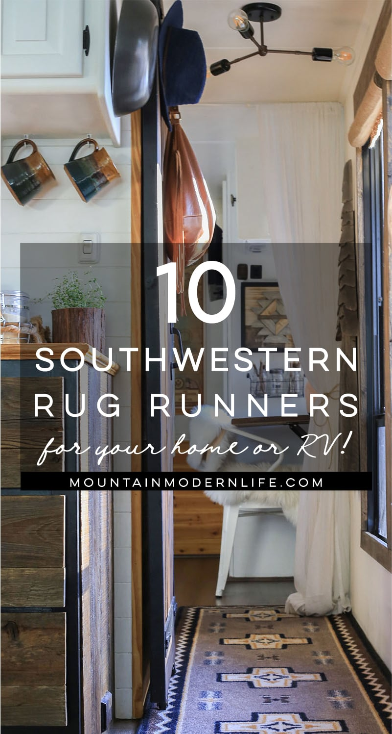 10 Southwestern Rug Runners