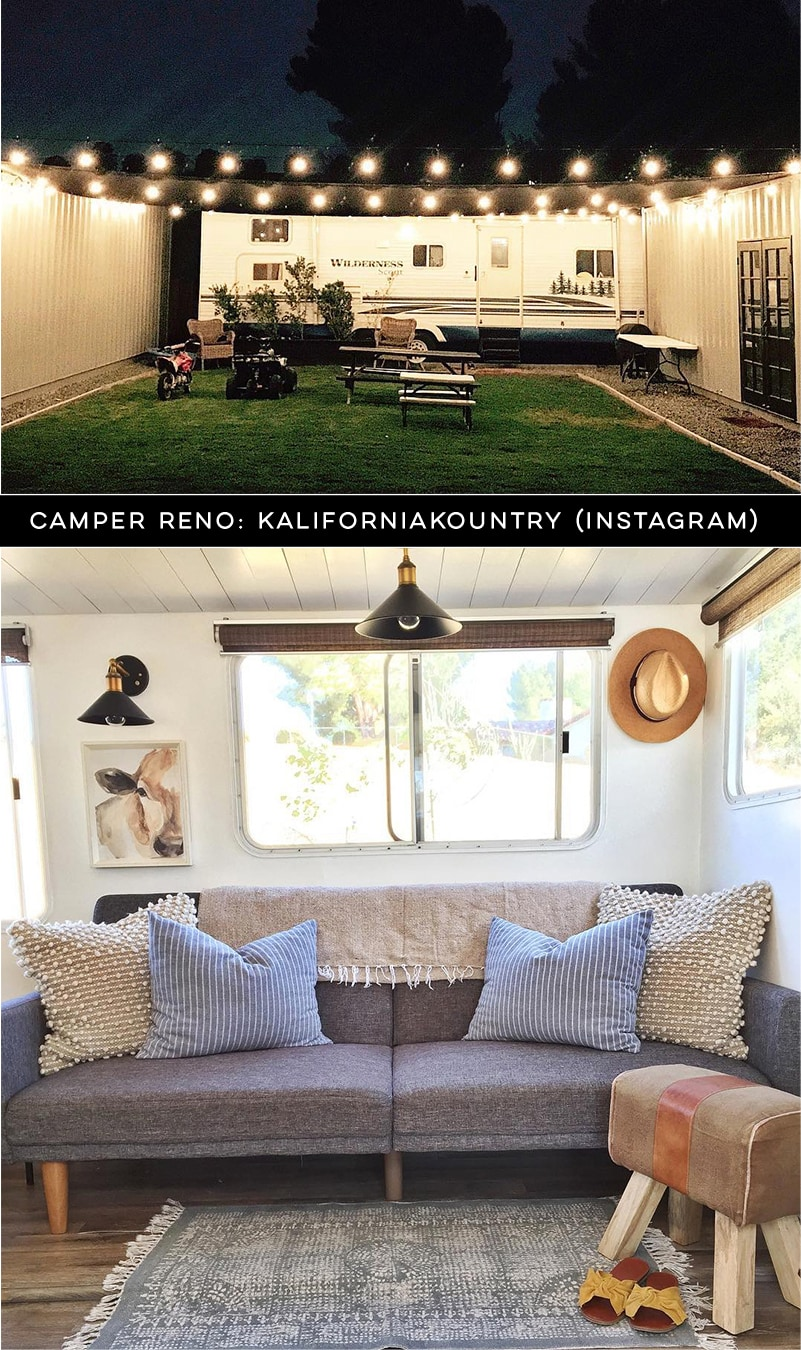 Design Vibes: Tour this renovated camper from Kalifornia Kountry!