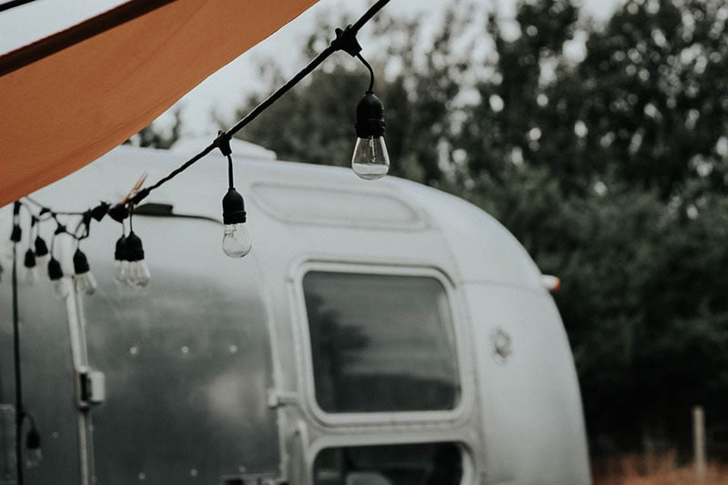 Tour this Modern Eclectic Airstream Renovation from Genuinely Ginger | Photo by Maddie Olling | Featured on MountainModernLife.com