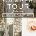Camper Tour: Meet Miss Marjorie, a 1962 Airstream Reimagined by an Artist and Textile Designer, Bonnie Christine!