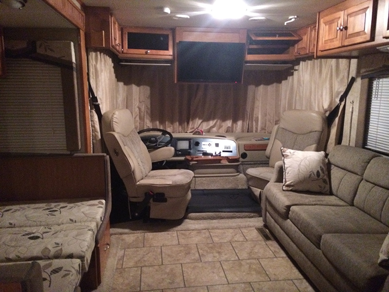 RV before photo