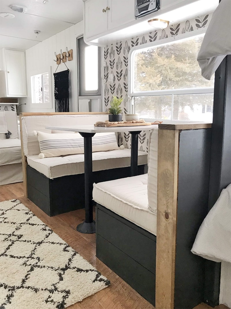 This Farmhouse Camper Was Transformed For 500 Mountain Modern Life
