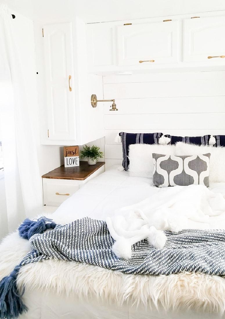 Modern RV Bedroom