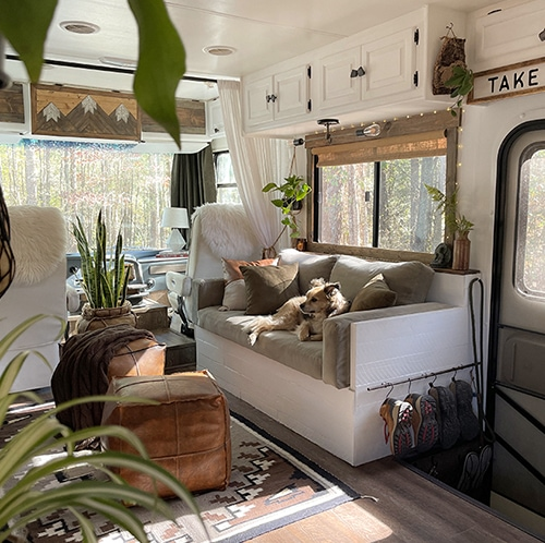 Plant filled RV