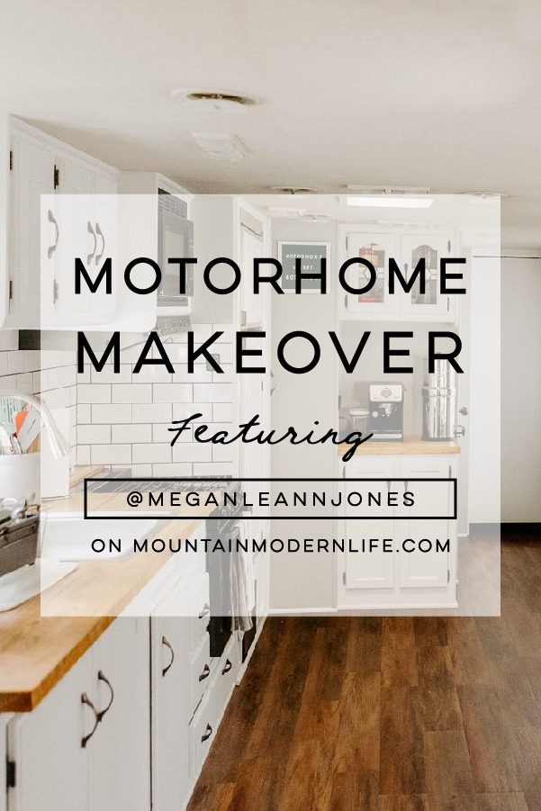 RV Kitchen Renovation from @meganleannjones - Featured on MountainModernLife.com