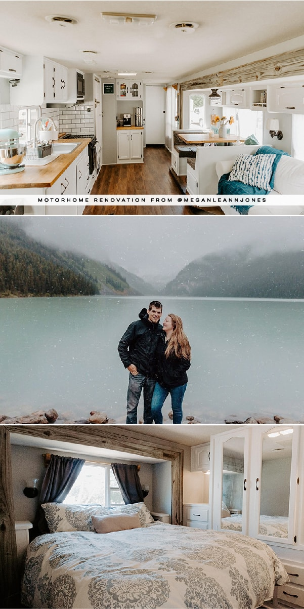 RV tour featuring @meganleannjones on MountainModernLife.com