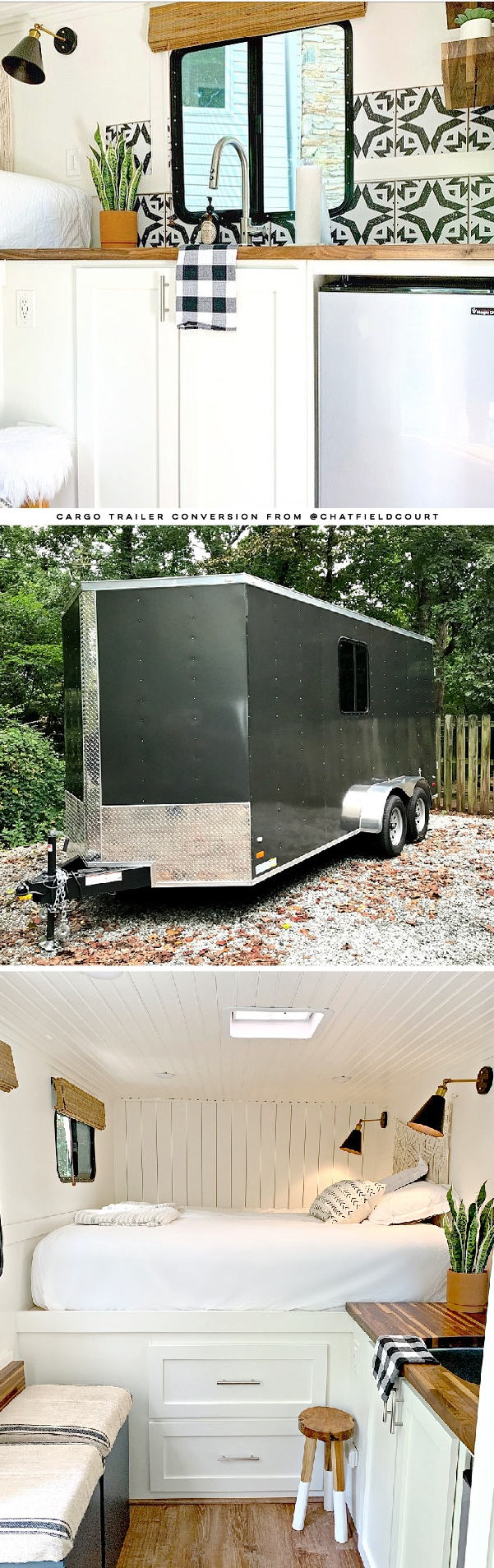 Cargo Trailer RV Conversion from @ChatfieldCourt