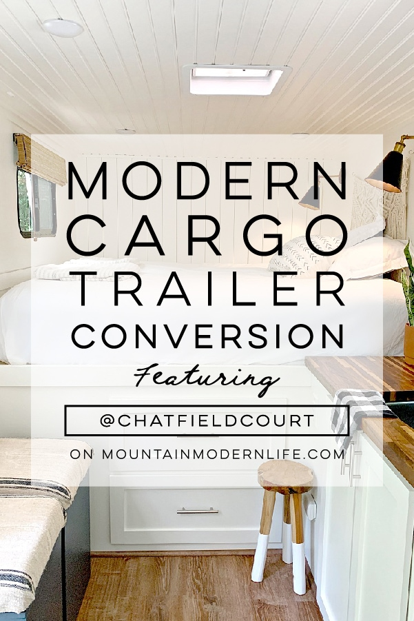 Cargo Trailer Camper Conversion from @ChatfieldCourt