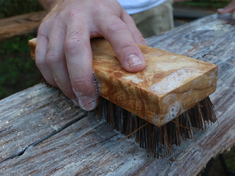 How to clean reclaimed wood (and make sure it's bug-free!) before you bring it into your home or RV | MountainModernLife.com