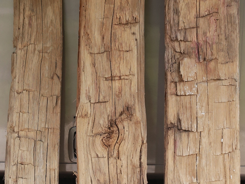 Reclaimed Rough Hewn Skins | MountainModernLife.com