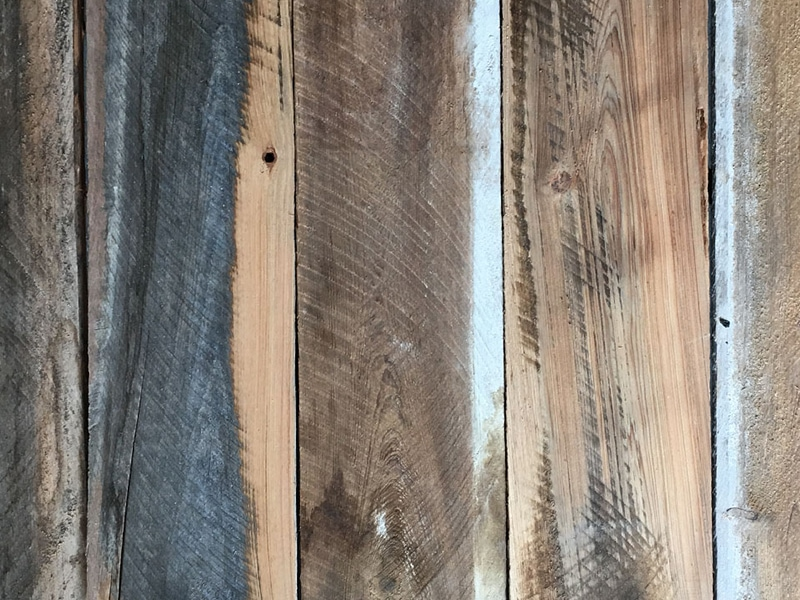 Reclaimed Wood Patina | MountainModernLife.com