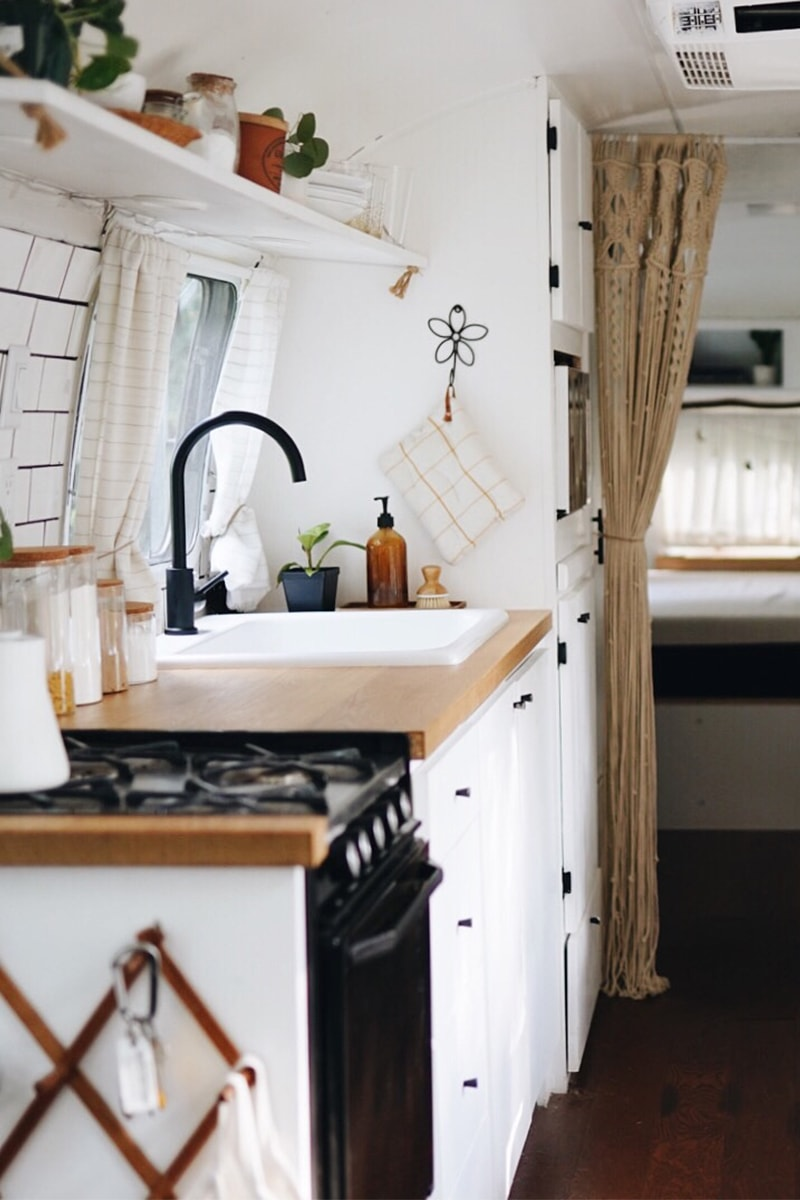 Airstream Renovation from @provencher_adventure