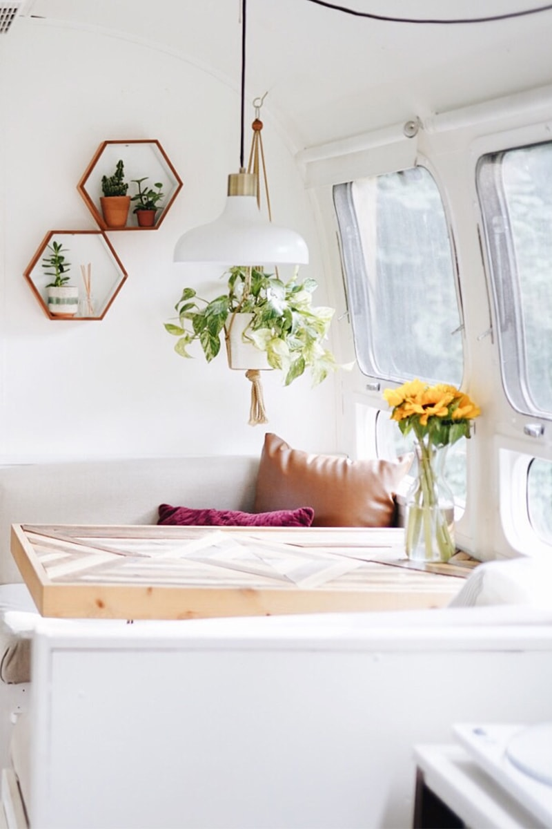 Boho Airstream Renovation from @provencher_adventure