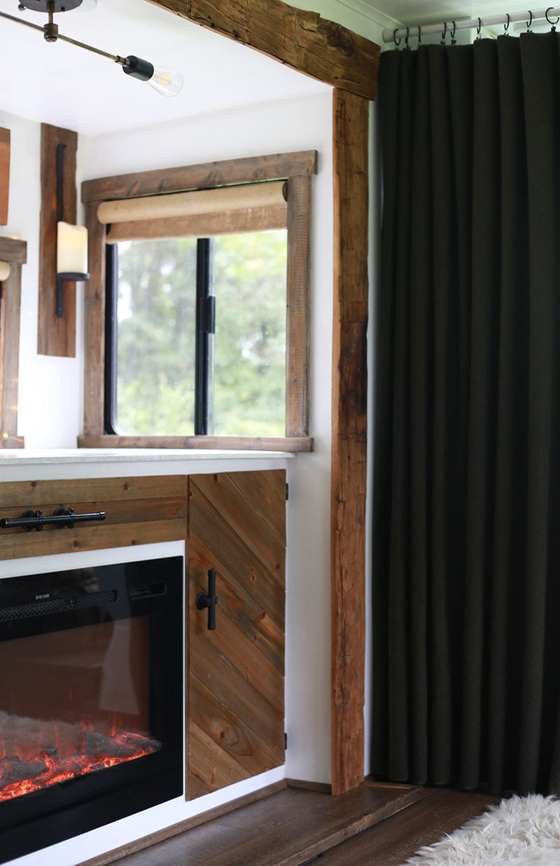 Remodeled RV interior design
