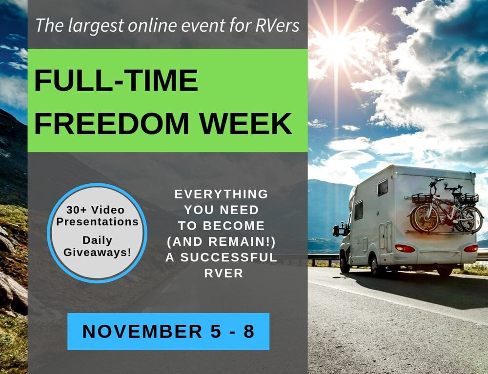 Full-time freedom week image highlighting the event