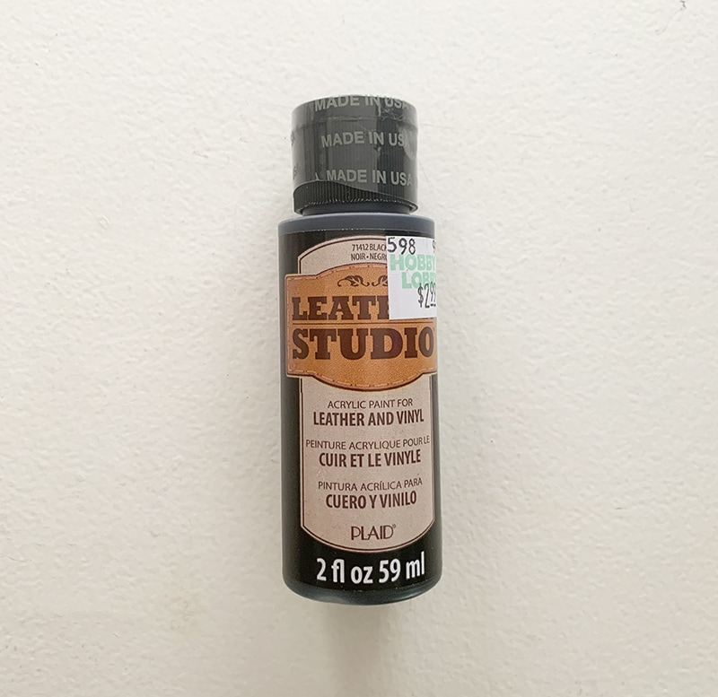 Leather Studio Acrylic Paint for Leather and Vinyl