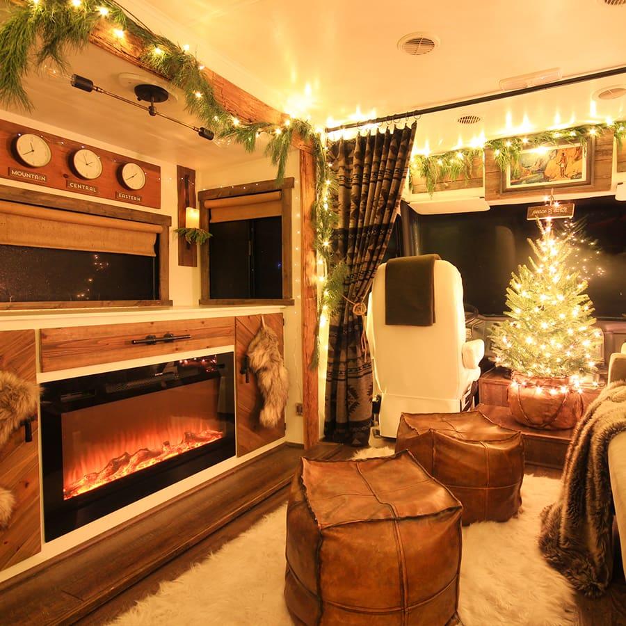 Christmas RV tour