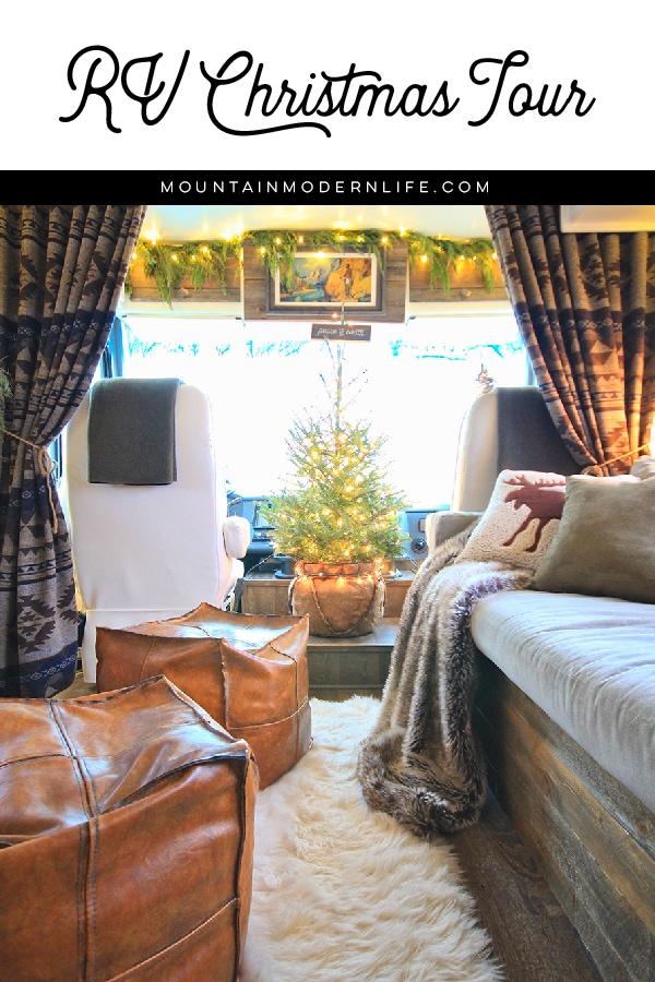 Renovated RV Christmas Tour