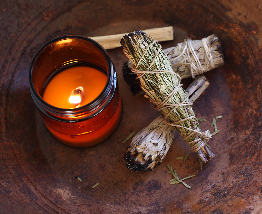 "Using sage to relieve stress and help with autoimmune disease and ""leaky gut"""