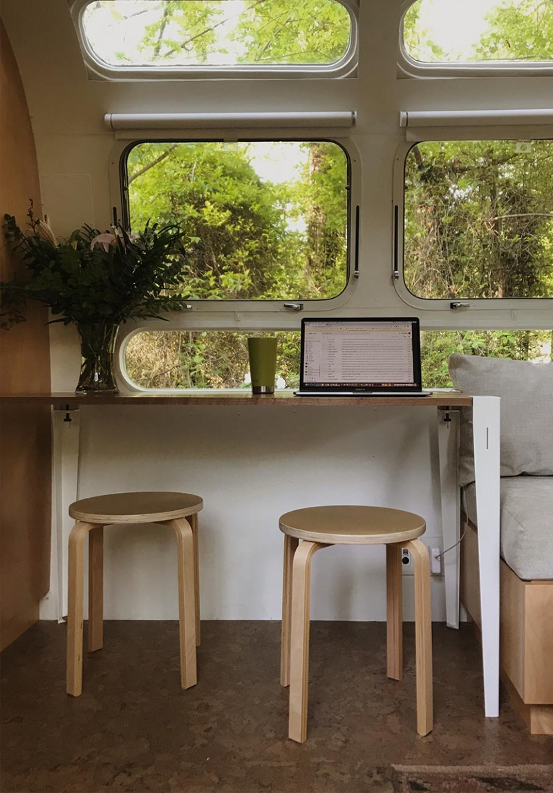 Airstream office inspiration