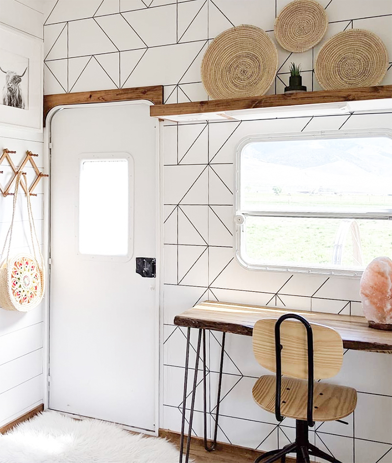modern rv office inspiration