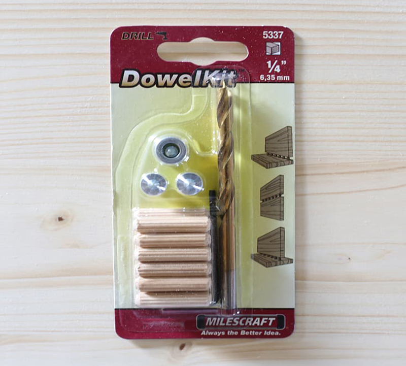 Wooden Dowel Kit for Expanding Table