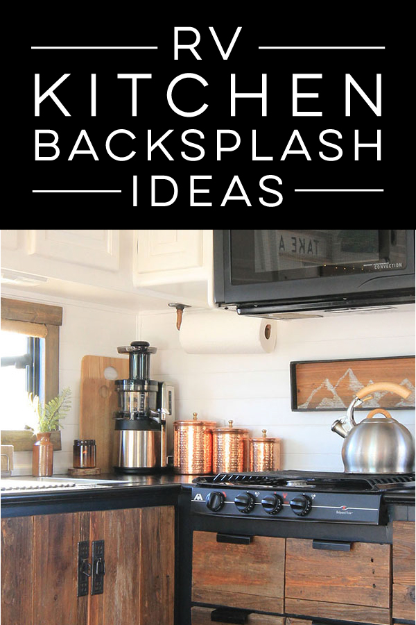 RV kitchen backsplash ideas