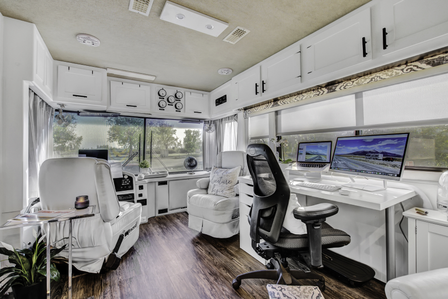 Contemporary RV Renovation featuring RVLove