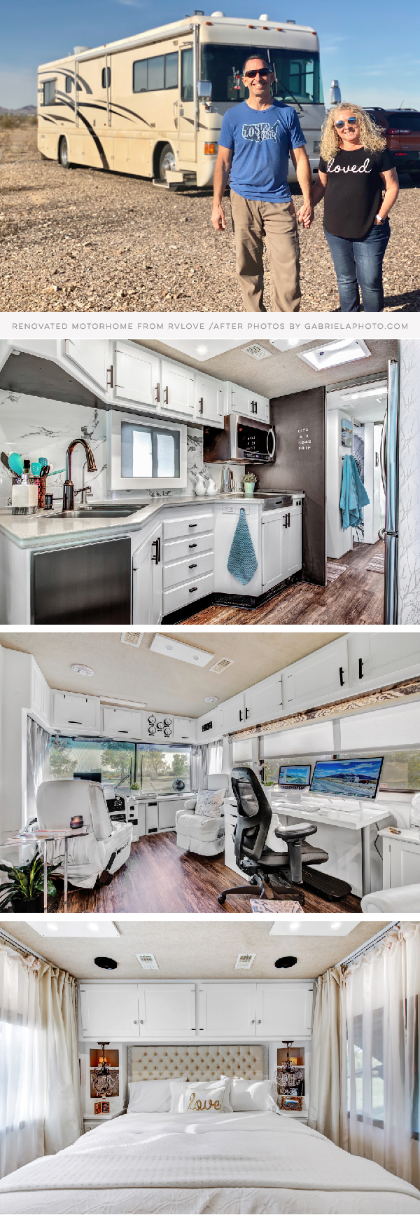 Motorhome Remodel featuring RVLove