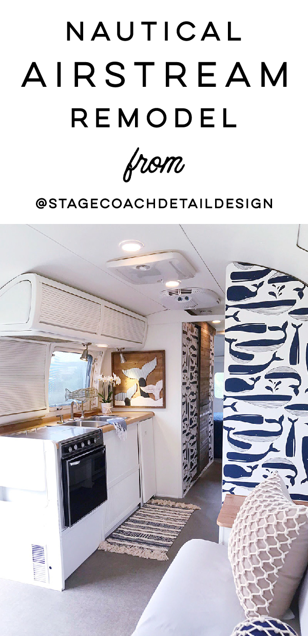 Nautical Airstream Renovation