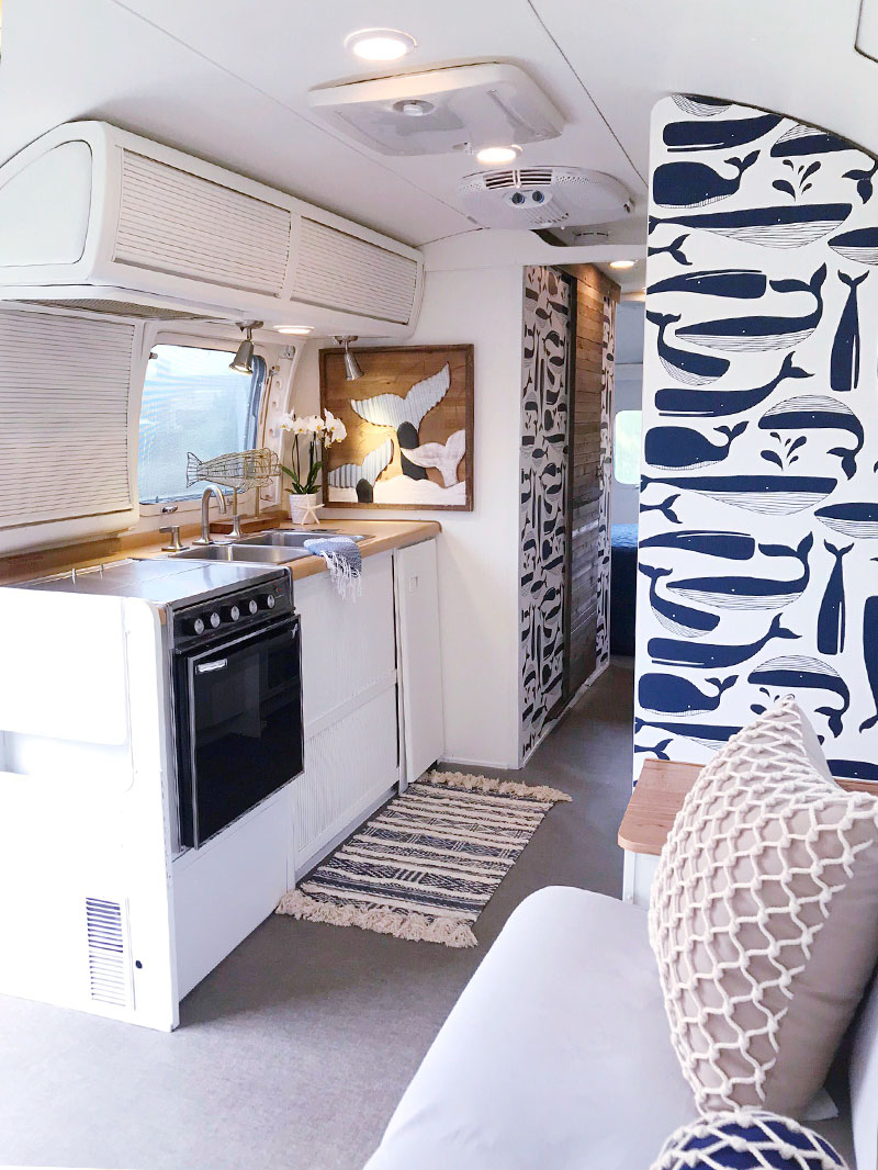 nautical airstream remodel