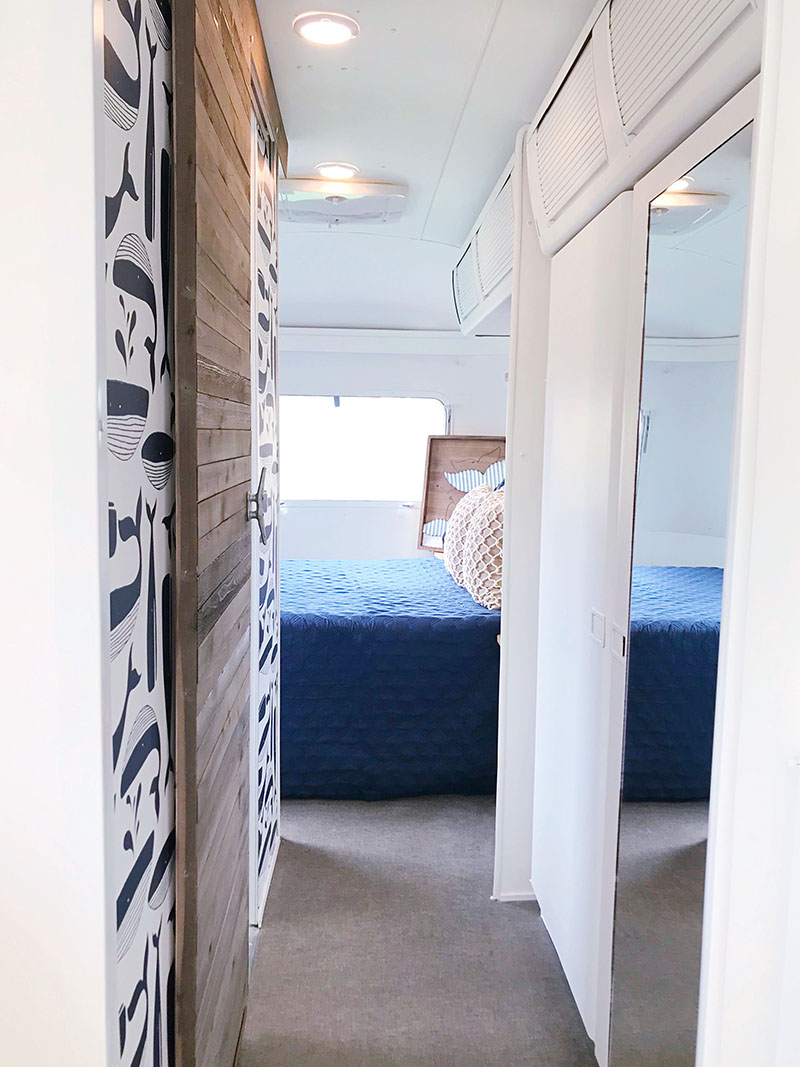 nautical camper interior