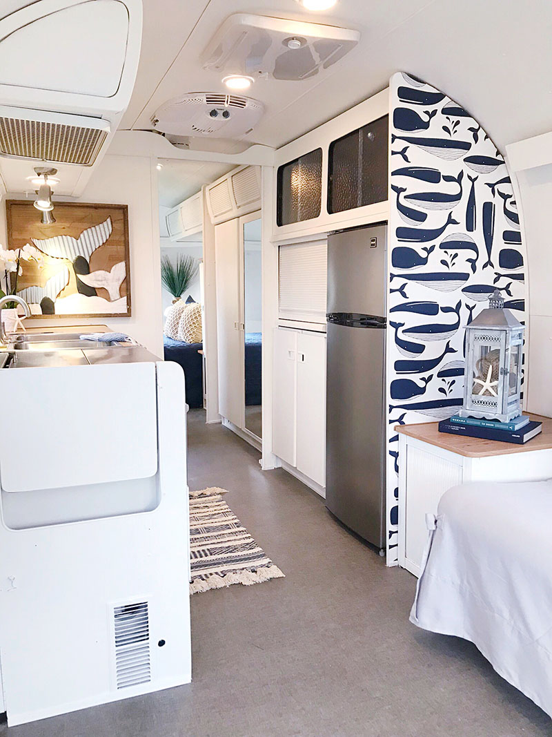 nautical airstream interior
