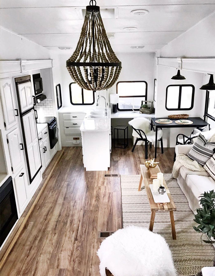 5th wheel remodel from @rvfixerupper