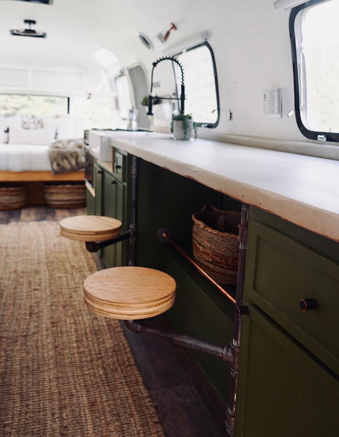 Airstream Kitchen Remodel